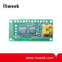 Evaluation Board for 4 Temperature Sensors SMT172