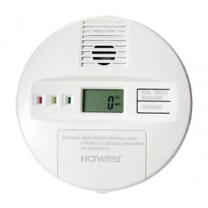 Battery-operated CO Alarm With LCD Display; Comply with EN50291
