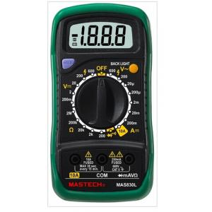 Digital Multimeter Type-K thermocouple contact temperature