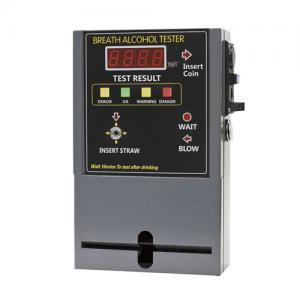 Coin Operated Vending Breathalyzer Breath Alcohol Tester