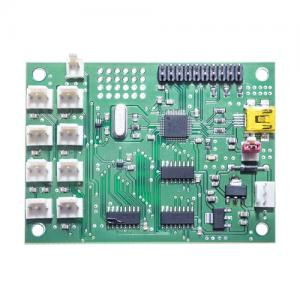 Evaluation Board for 8 Temperature Sensors SMT172