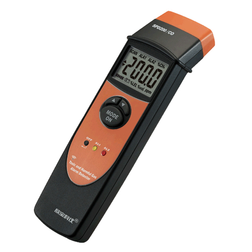 Battery Operated Natural Gas Detector